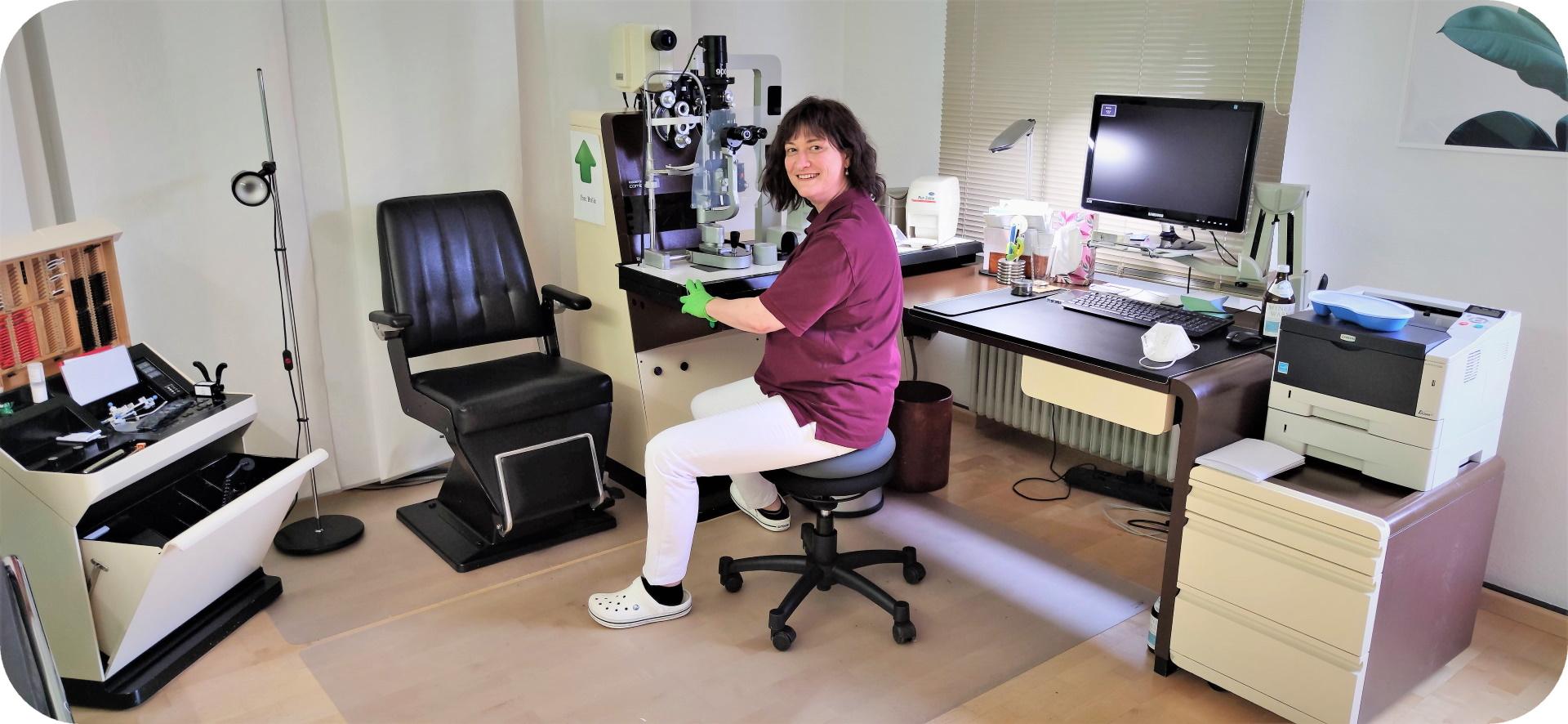 Augenarzt Dr. med. Ulrike Flach